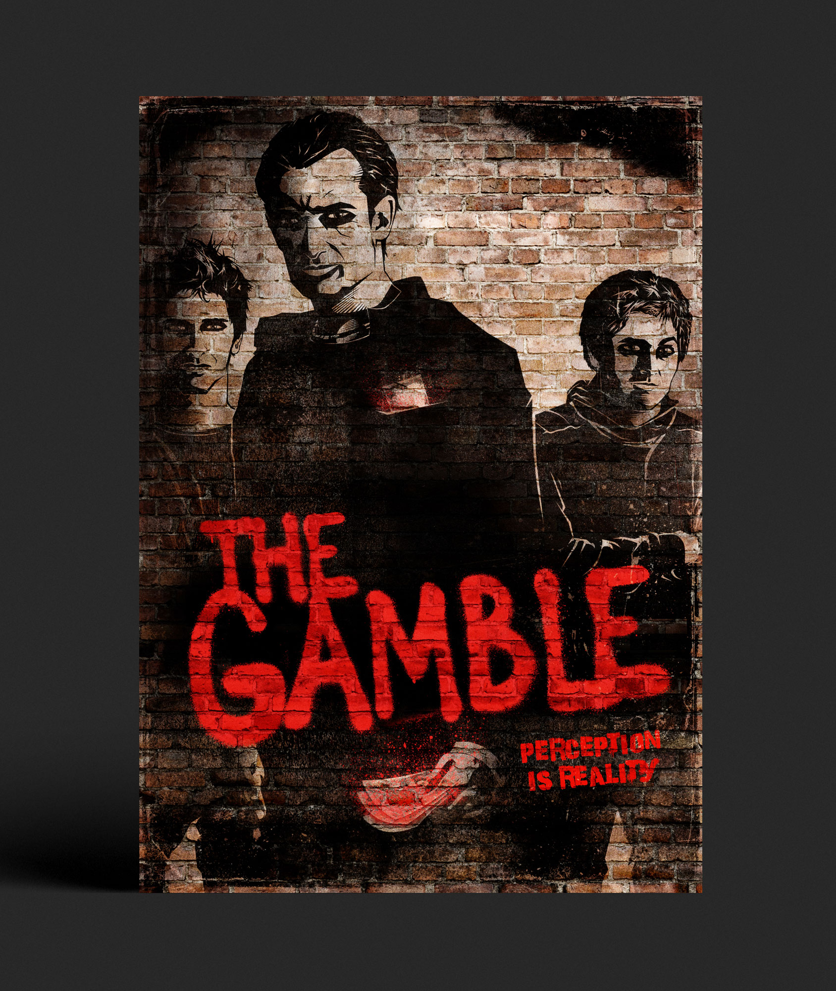 The Gamble Key Art